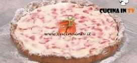 La Cuoca Bendata - ricetta Crostata alla crema di nocciola ricotta e fragole di Benedetta Parodi