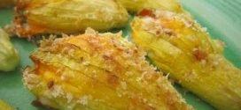 La Cuoca Bendata - ricetta Fiori di zucca ripieni di provola di Benedetta Parodi