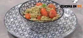 La Cuoca Bendata - ricetta Insalata di farro tonno e pesto di mandorle di Benedetta Parodi