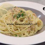 La Cuoca Bendata - ricetta Spaghetti tonno e limone di Benedetta Parodi