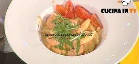La Prova del Cuoco - ricetta Strascinati con gamberi e rucola
