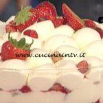 La Prova del Cuoco - Tiramisù alle fragoline ricetta Sergio Barzetti
