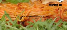 La Prova del Cuoco - Torta di spaghetti e polpette ricetta Natalia Cattelani