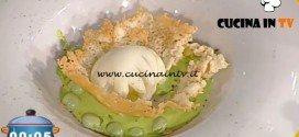 La Prova del Cuoco - ricetta Uovo in camicia con salsa di fave e pecorino