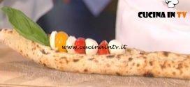 La Prova del Cuoco - Canoa di pizza bianca ricetta Antonino Esposito