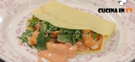 La Cuoca Bendata - ricetta Crepes con gamberi e salsa rosa di Benedetta Parodi
