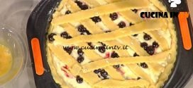 La Prova del Cuoco - Crostata di visciole romana ricetta Anna Moroni