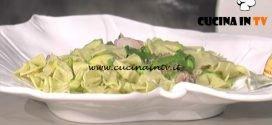 La Prova del Cuoco - Farfalle alla menta con verdure primaverili ricetta Markus Holzer