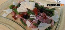 Cotto e mangiato - Insalata di asparagi ricetta Tessa Gelisio