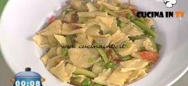 La Prova del Cuoco - ricetta Maltagliati primavera con pancetta croccante
