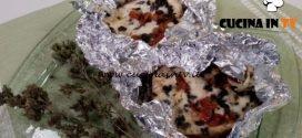 Cotto e mangiato - Melanzane con pomodori secchi e olive ricetta Tessa Gelisio