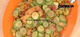 La Prova del Cuoco - Pappardelle variegate con le zucchine ricetta Alessandra Spisni