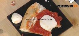 La Prova del Cuoco - Pizza margherita con cornicione di ricotta ricetta Gino Sorbillo