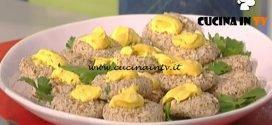 La Prova del Cuoco - Polpettine di borlotti lenticchie e ricotta ricetta Marco Bianchi