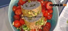 La Prova del Cuoco - Polpettone di vitello con zucchine e pomodorini ricetta Sergio Barzetti