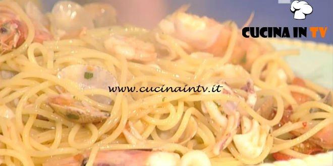 La Prova del Cuoco - Spaghetti alla pescatora ricetta Gianfranco Pascucci