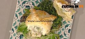 La Prova del Cuoco - Tomini in sfoglia con asparagi ricetta Sergio Barzetti