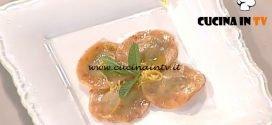 La Prova del Cuoco - Cappellacci di zucchine al limone ricetta Gilberto Rossi