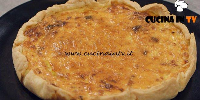 La Cuoca Bendata - ricetta Quiche Lorraine di Benedetta Parodi