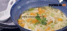 La Cuoca Bendata - ricetta Zuppa di noodles di Benedetta Parodi