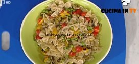La Prova del Cuoco - ricetta Farfalle integrali con verdure