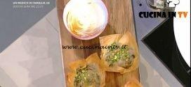 La Prova del Cuoco - Funghi shitake in pasta fillo ricetta Hirohiko Shoda
