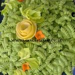 La Prova del Cuoco - Fusilli al pesto di sedano con fiocchi di caprino al limone ricetta Sergio Barzetti