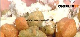 La Prova del Cuoco - Gnocchi fritti multicolori ricetta Gabriele Bonci