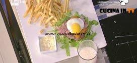 La Prova del Cuoco - Hamburger americano ricetta Tiziana Stefanelli