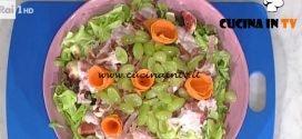 La Prova del Cuoco - ricetta Insalata di fichi pannerone e uva