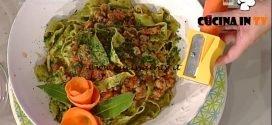 La Prova del Cuoco - Pappardelle al sugo saporito ricetta Sergio Barzetti