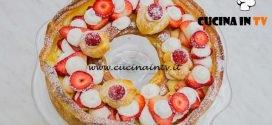 Bake Off Italia 4 - ricetta Paris Brest con crema pasticcera di Roberta