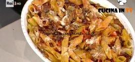 La Prova del Cuoco - Penne alla puttanesca gratinate ricetta Anna Moroni