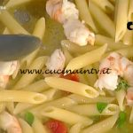 La Prova del Cuoco - Penne con pomodori mazzancolle e finocchio marino ricetta Gianfranco Pascucci