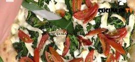 La Prova del Cuoco - Pizza tonda con pomodoro tigrato nero friarielli e provola ricetta Gino Sorbillo