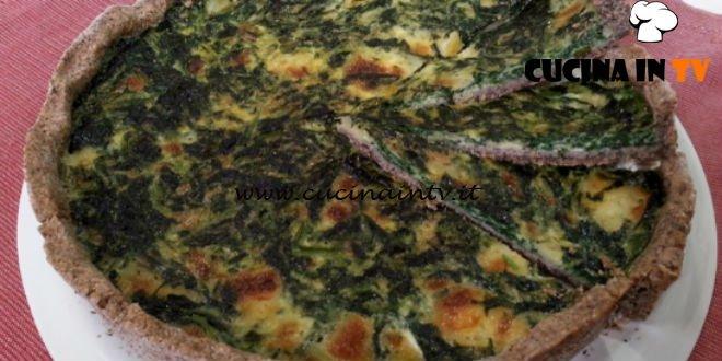Cotto e mangiato - Quiche di grano saraceno e crescenza ricetta Tessa Gelisio