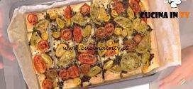 La Prova del Cuoco - Sfogliata di pomodori misti con tapenade ricetta Natalia Cattelani