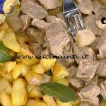 La Prova del Cuoco - Spezzatino di vitella alla cacciatora con patate alla calabrese ricetta Anna Moroni