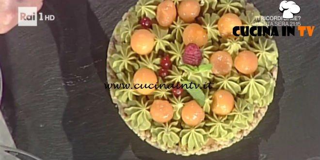 La Prova del Cuoco - Torta Pistacchio e Melone ricetta Guido Castagna