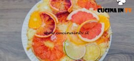Bake Off Italia 4 - ricetta Sponge cake agli agrumi di Federico