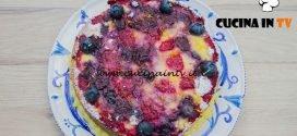 Bake Off Italia 4 - ricetta Torta Up-Side down frolla e frutti di bosco di Martina