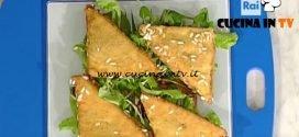 La Prova del Cuoco - ricetta Tramezzini pollo e zucchine