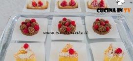 Bake Off Italia 4 - ricetta Caprese limone e cocco e mini bavarese alla vaniglia di Joyce