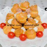 Bake Off Italia 4 - ricetta Crocambuche salato con prosciutto caprino e aneto di Francesca