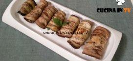 Cotto e mangiato - Involtini di melanzane feta e mandorle ricetta Tessa Gelisio