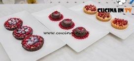 Bake Off Italia 4 - ricetta Mini sacher alle mandorle e frolla al cacao con frutti di bosco di Francesca