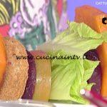 La Prova del Cuoco - Piatto glamour ricetta Cesare Marretti