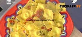 La Prova del Cuoco - Ravioli di asiago al pepe verde ricetta Alessandra Spisni
