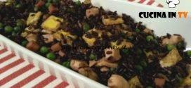 Cotto e mangiato - Riso venere alla cantonese ricetta Tessa Gelisio