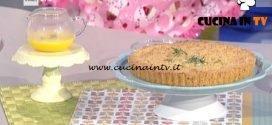 La Prova del Cuoco - Sbrisolona con zabaione al moscato ricetta Roberto Valbuzzi